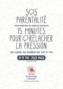 Cecile Morgant - SOS parentalité / 15mn d'écoute gratuites pour relâcher la pression